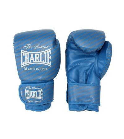 Guantes de boxeo modelo Blast de Charlie de color azul. Bushi Sport (1)