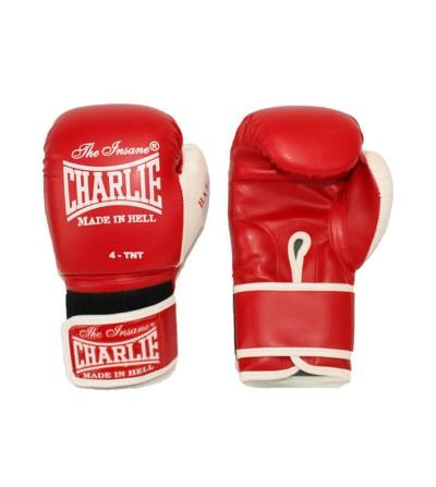 Guantes de boxeo en color rojo para los más pequeños de la casa. Bushi Sport (1)