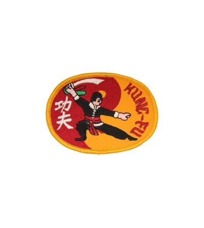 Parche Kung Fu bordado. Bushi Sport.