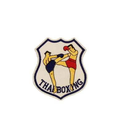 Parche, escudo bordado Thai Boxing. Bushi Sport.