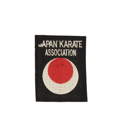 Parche bordado Japan Karate Association. Bushi Sport.