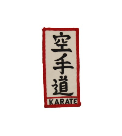Escudo bordado Karate Do. Bushi Sport