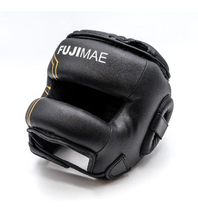 Casco boxeo con barra de hierro, perfecto para sparring. Bushi Sport. (2)