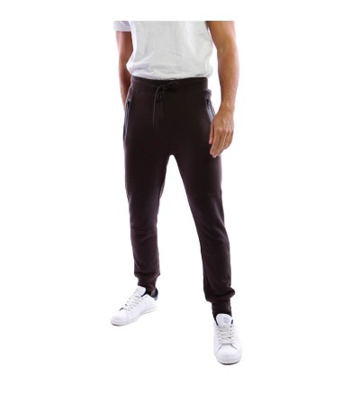 Pantalón chándal marrón oscuro. Bushi Sport.