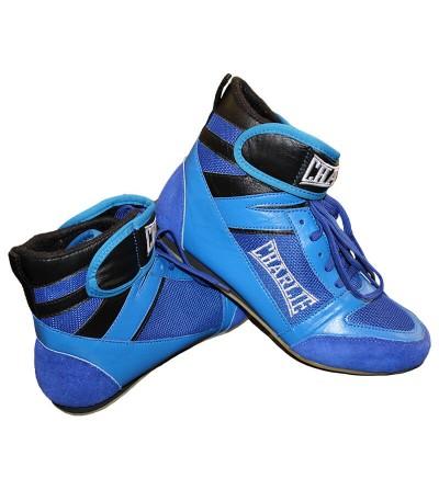 Bota boxeo azul