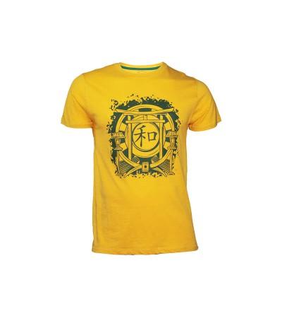 Camiseta Harmony en color amarillo. Bushi Sport